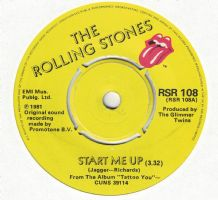 The Rolling Stones - Start Me Up c/w No Use In Crying
